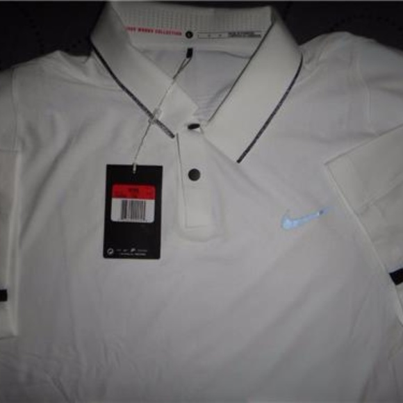 87302559 Nike Shirts | Tiger Woods Golf Drifit Body Map Polo Shirt | Poshmark